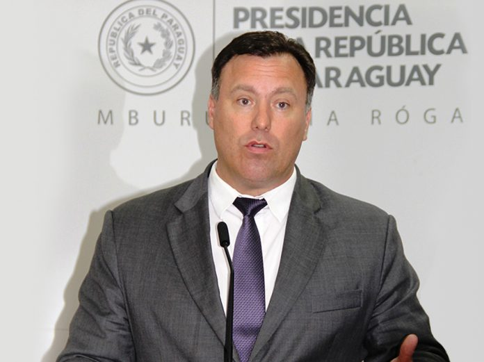 Ramón Jiménez Gaona, Paraguay's Minister of Public Works and Communications