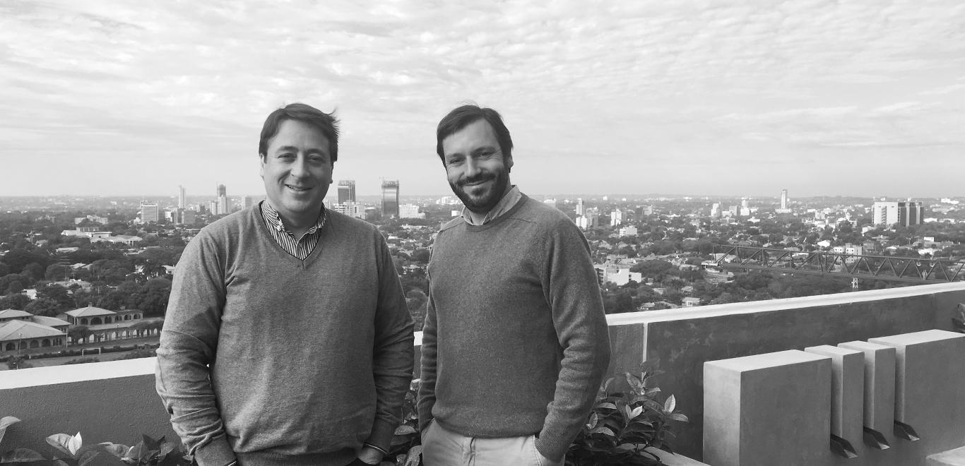 Alejandro Loza de Balanzó and Alfredo Heraso grupo barcelona