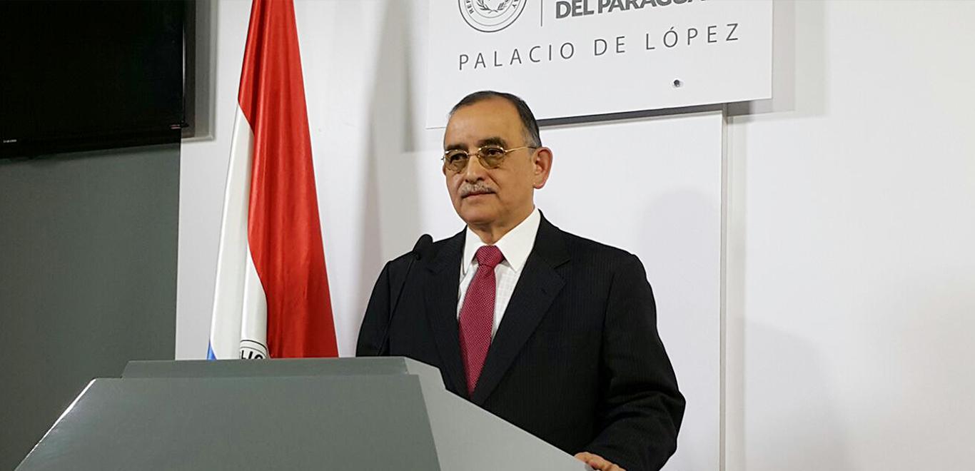 Ángel Recalde, Magaging Director of Yacyretá hydroelectric power station