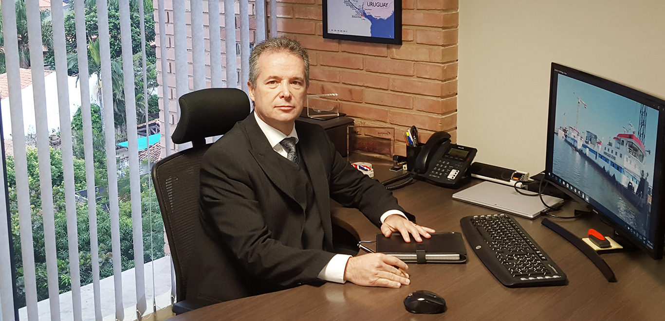 Fabián Sesto, President of Imperial Shipping Paraguay