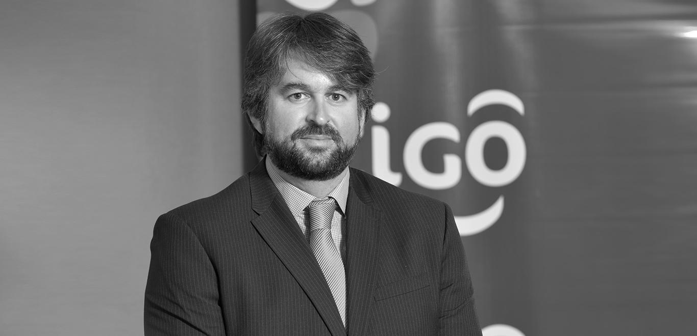 José Perdomo, Managing Director of Tigo Paraguay