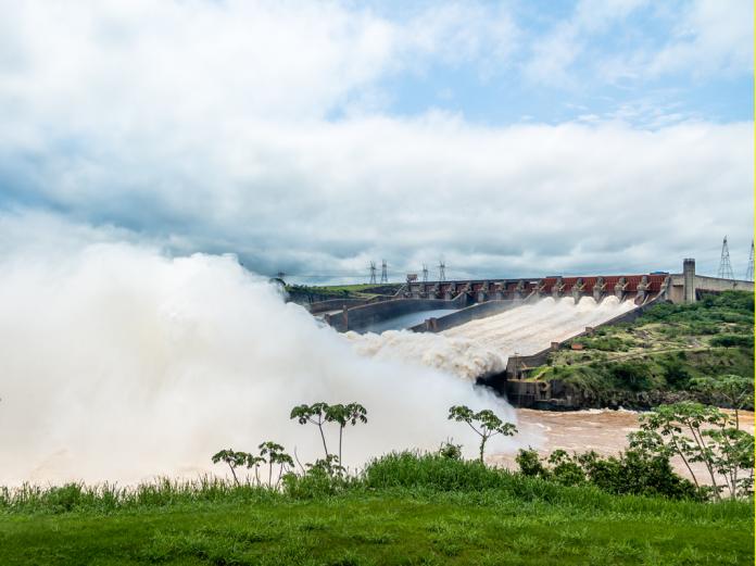 Itaipu dam , Hydropower electricity