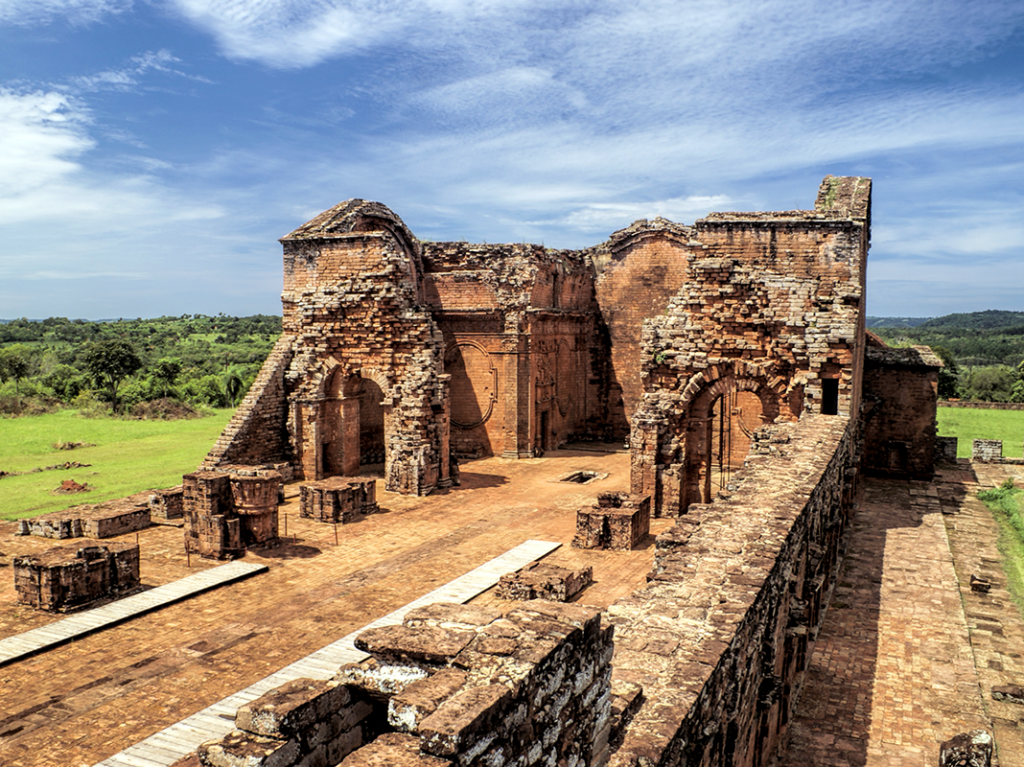 Ruins of the Jesuit Missions, Encarnación, Paraguay