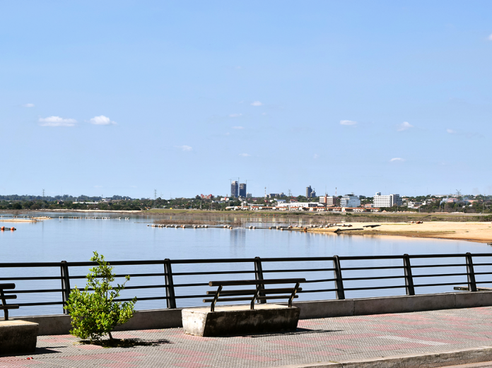 View of Paraguay river